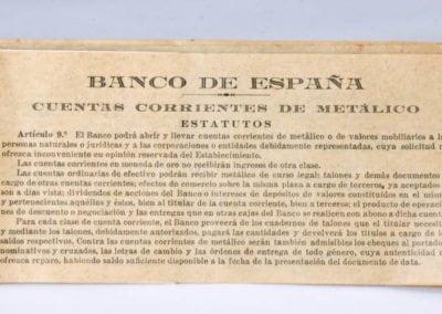 CUENTAS CORRIENTES DE METÁLICO